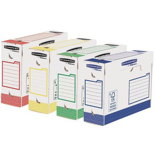 Boite D Archive Bankers Box Heavy Duty Dos 10 Cm Assorti Lot De 8 Manutan Fr