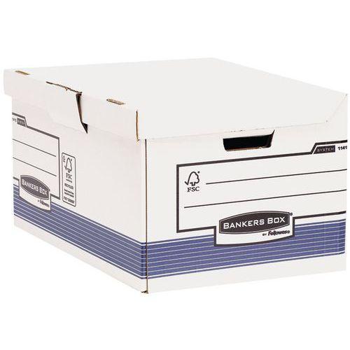 Conteneur pour boîtes d'archives Bankers Box automatique A4+