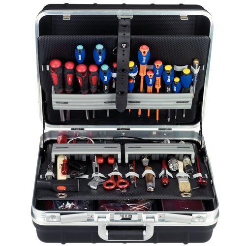 Composition lectrom canique 153 pi ces avec valise for Garage diagnostic auto gratuit