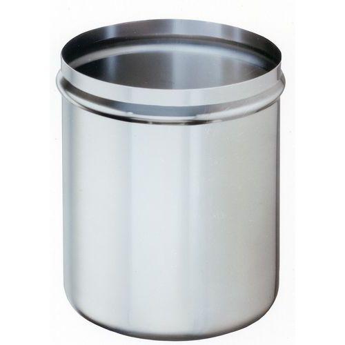 Cuve inox pour bain marie à pompe