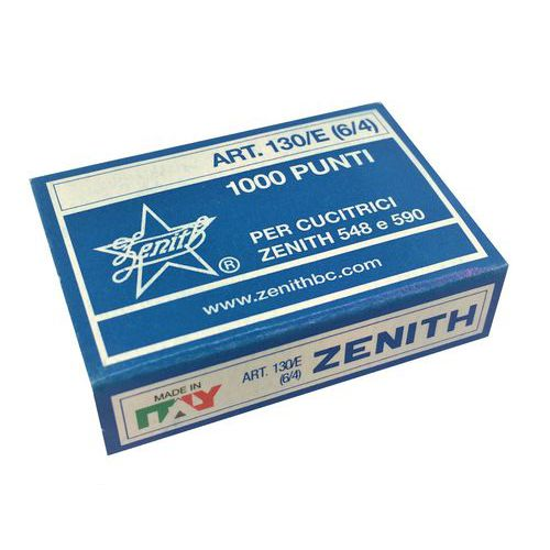 Agrafe pour pince agrafeuse Zenith - Boîte de 1000