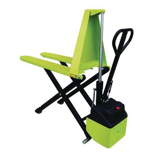 Transpalette électrique haute levée ergonomique -  Capacité 1000kg - Pramac
