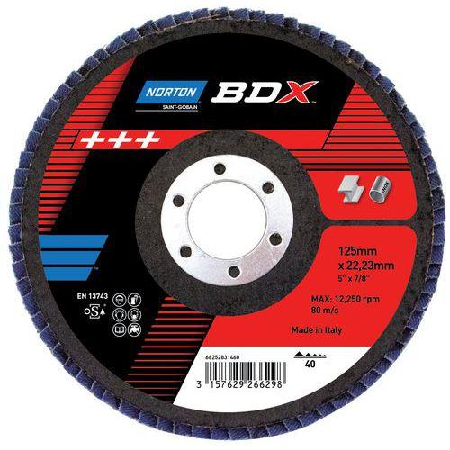 Disque à lamelles bombé BDX - R842 - Grain 40 à 80