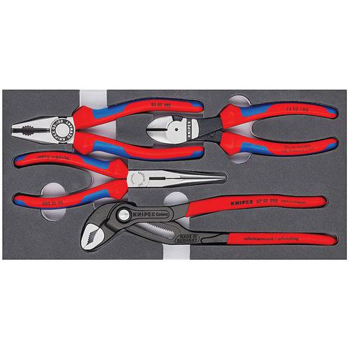 KNIPEX 40 04 250 Pince-/étau universelle nickel/ée 250 mm