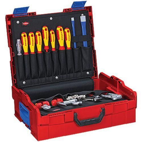 Composition Sanitaire 52 outils en L-BOXX® - 00 21 19 LB S_Knipex