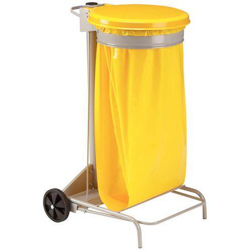 Support pour sac-poubelle de tri - 110 L - Manutan