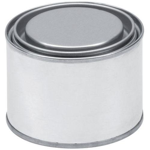 Boîte métal ronde « à ouverture au sou »