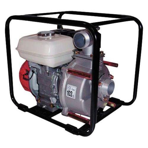 Motopompe eau chargée