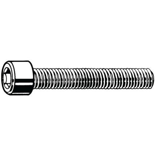 M2 x 6 Unit/é demballage: 50 pi/èces Vis /à t/ête cylindrique /à six pans creux vis /à t/ête cylindrique DIN 912 en acier inoxydable A2 V2A D2D
