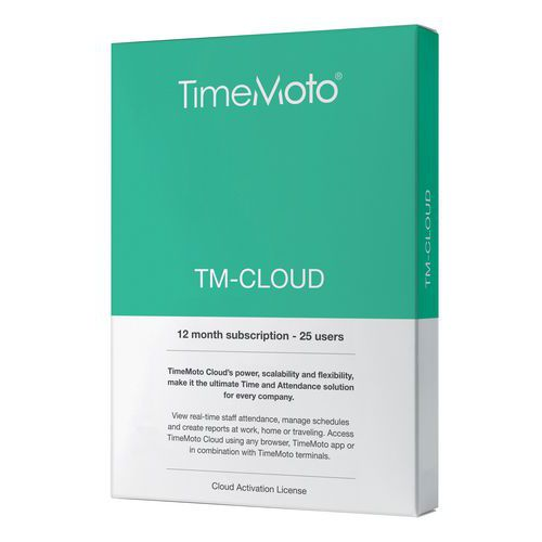 Solution application TimeMoto Cloud