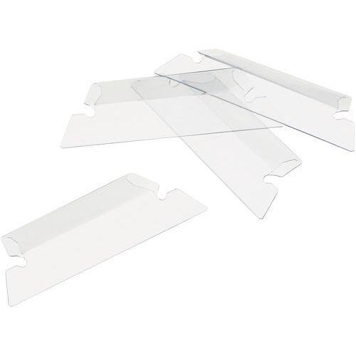 Porte-étiquette pour dossier suspendu - Largeur 65 mm