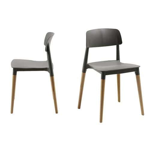 Chaises Glamwood - Lot de 2