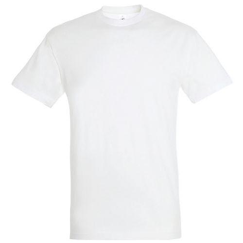 T shirt unisexe col rond blanc 3xl