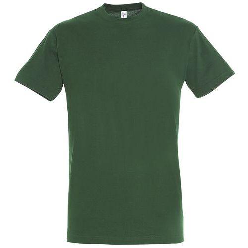 T shirt unisexe col rond vert bouteille xxl