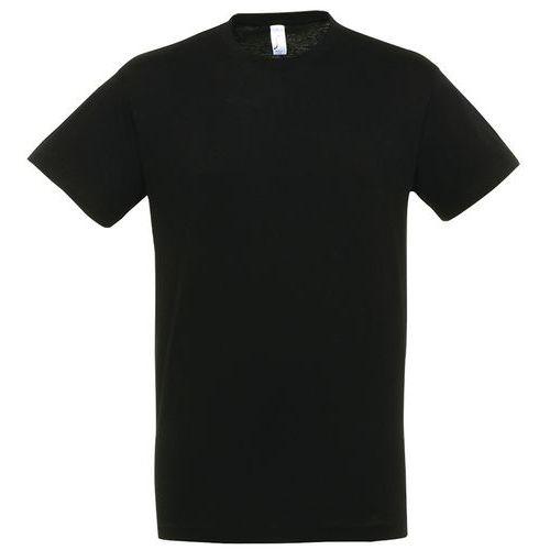 T shirt unisexe col rond noir xl