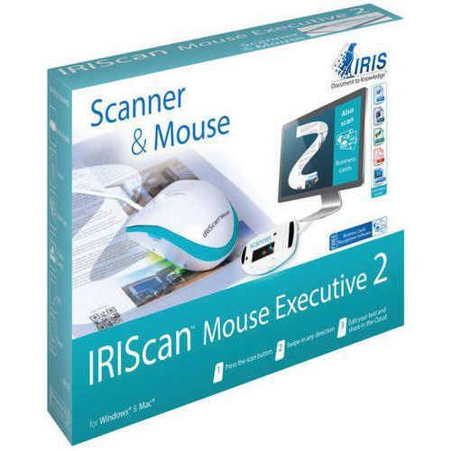 Scanner de document en souris - IRIScan Mouse Executive 2