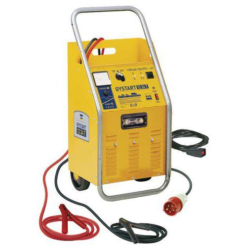 Extremement Chargeur de batterie démarreur automatique 12/24 V GYSTART EJ-05