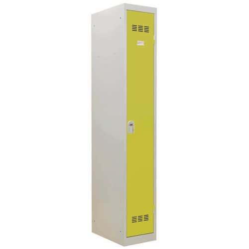 Vestiaire industrie propre - Largeur 300 mm - 1 colonne - Vinco