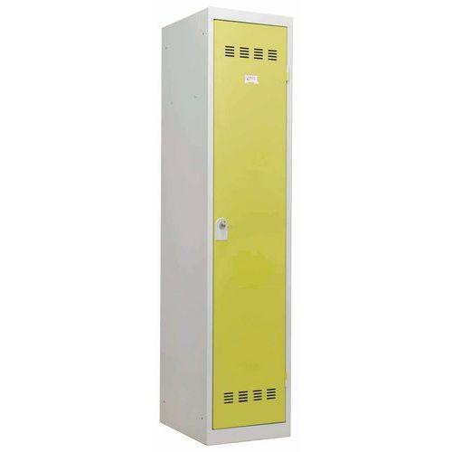 Vestiaire industrie salissante - Largeur 400 mm - 1 colonne - Vinco