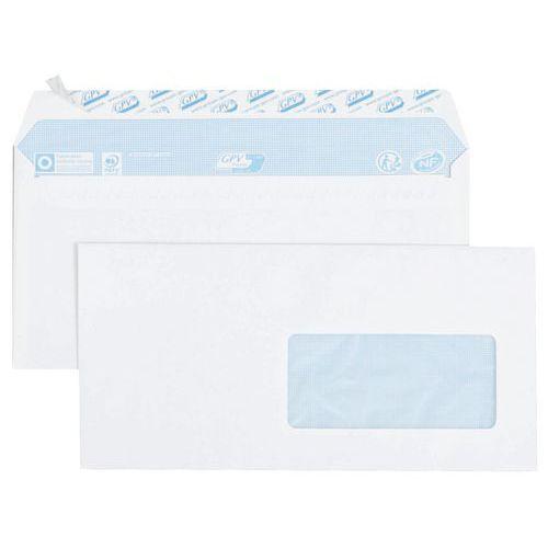 Enveloppe blanche 80 g - Boîte de 500