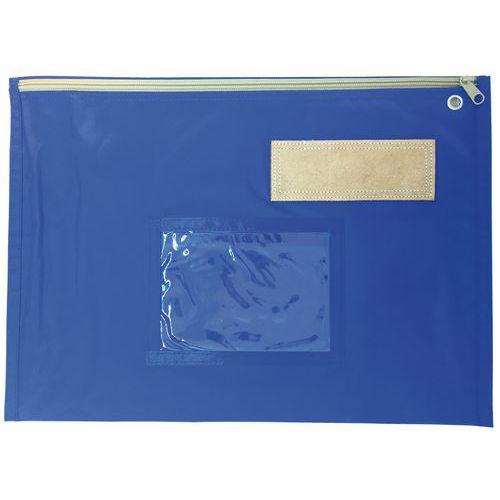 Pochette navette - 40 x 30 cm - Bleu