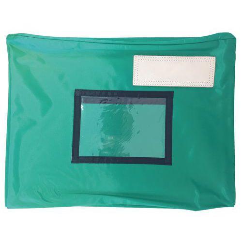 Pochette navette avec soufflet 5 cm - 40 x 30 cm - Vert
