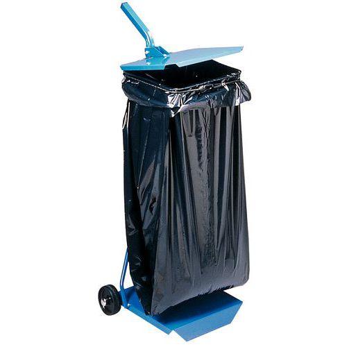 Support pour sac-poubelle - Fermé - 110 L