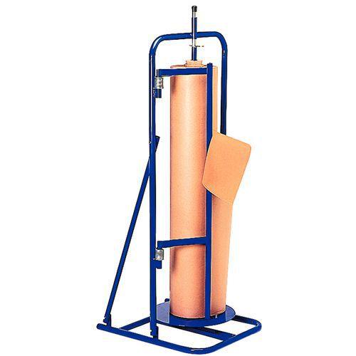 Dérouleur-coupeur vertical fixe - Rouleau Ø 400 maxi