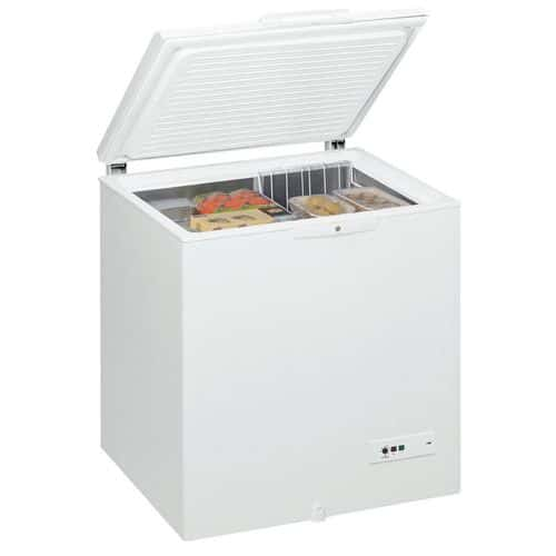 Congélateur coffre 204 litres WHM2110 Blanc - Whirlpool