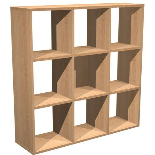 meuble de rangement 369 cases escalier maxicube