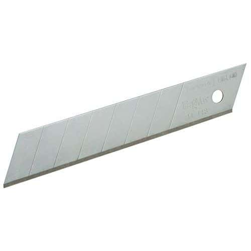 Lame pour cutter - Largeur 18 mm