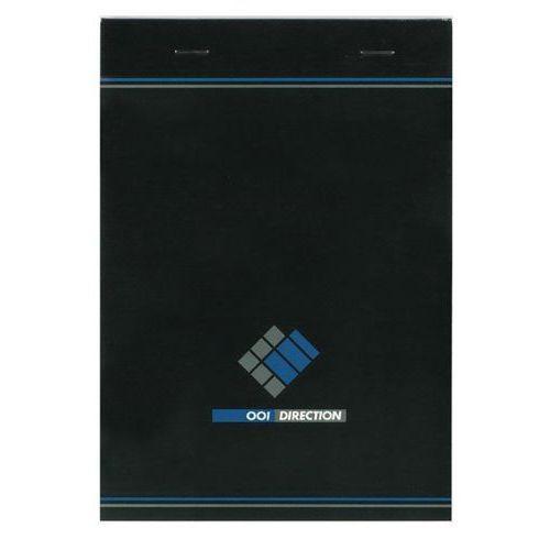 Bloc de bureau agrafé 001 Direction  A5 - 200 pages - 70 g - Petits carrreaux
