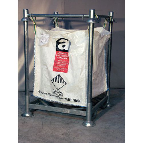 support pour sac gravats. Black Bedroom Furniture Sets. Home Design Ideas