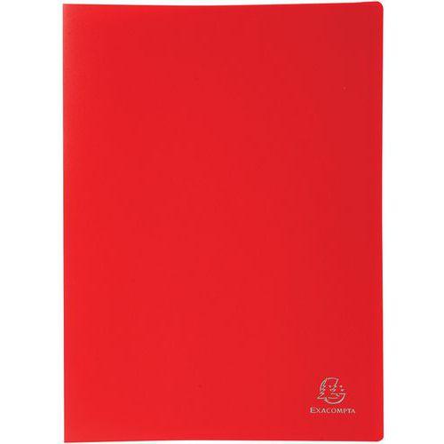 Protège-documents en PP souple pochettes opaque 140 vues A4