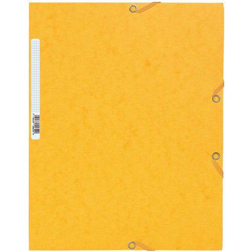 Chemise à élastique 3 rabats scottencarte 400gm² A4