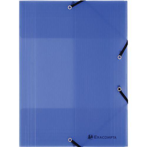 Chemise à élastiques 3 rabats PP 8/10e linicolor A4