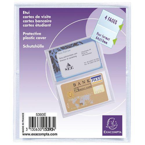 Sachet De 10 Etuis Protection Pour Carte Credit Ou Visite