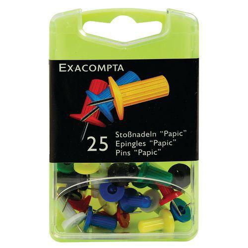 Boîte de 25 épingles papic hauteur de pointe 7mm