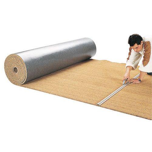 Tapis brosse coco rouleau longueur 600 cm for Bureau rouleau