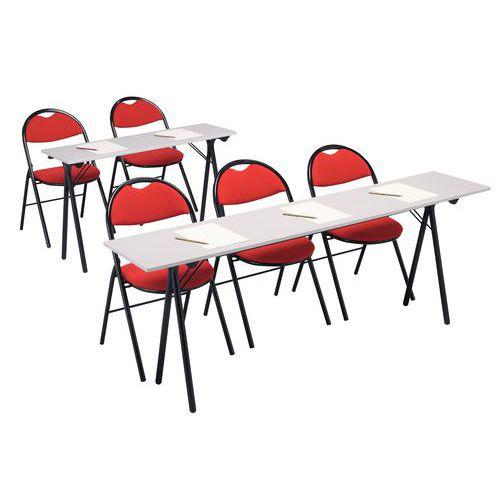 Table de formation - Gris clair