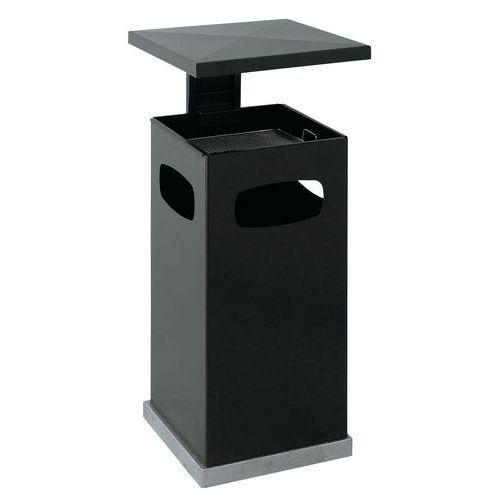cendrier et poubelle usage int rieur et ext rieur 38 l manutan. Black Bedroom Furniture Sets. Home Design Ideas