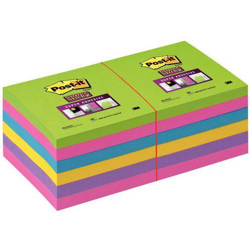 Post-it® Super Sticky Assorti