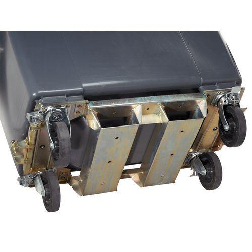 conteneur mobile plastic omnium passage de fourche tri des. Black Bedroom Furniture Sets. Home Design Ideas
