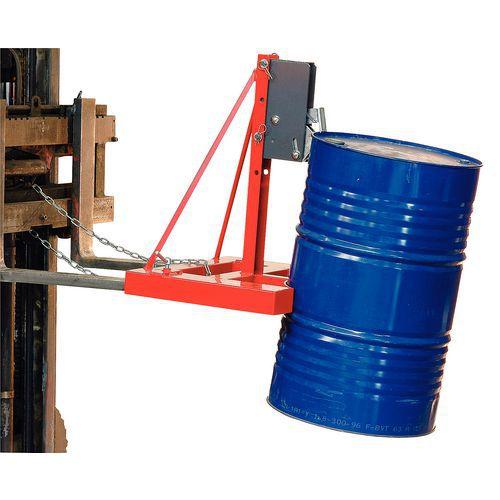 Pince automatique pour 1 ou 2 fûts - Force 500 et 1000 kg