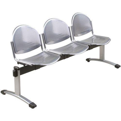 banc pour salle d 39 attente oker 3 places. Black Bedroom Furniture Sets. Home Design Ideas