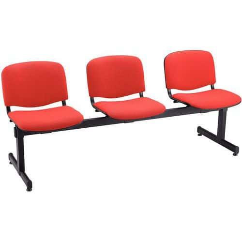 banc pour salle d 39 attente agora 3 places. Black Bedroom Furniture Sets. Home Design Ideas