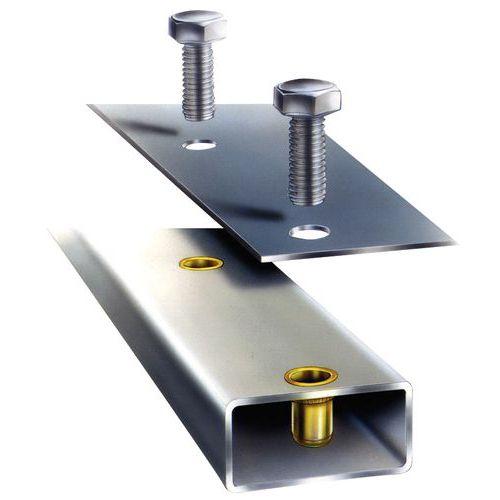 Écrous noyés RIVKLE®Plus - Tête plate acier