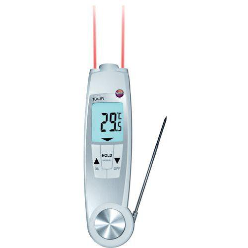 Thermomètre infrarouge 2 en 1 Testo 104 IR