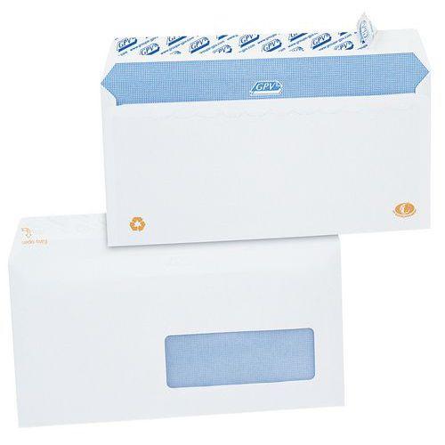 Enveloppe blanche 90 g avec fen tre for Enveloppe c4 avec fenetre