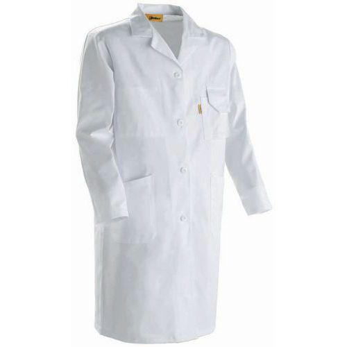 blouse de travail standard homme blanc coton. Black Bedroom Furniture Sets. Home Design Ideas